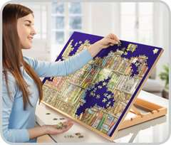 Wooden Puzzle Board Easel - image 2 - Click to Zoom