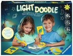 Light Doodle Moon & Stars - Bild 1 - Klicken zum Verg??ern