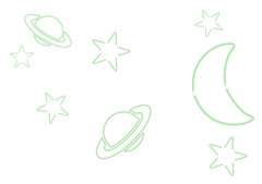 Light Doodle Luna e Stelle - immagine 33 - Clicca per ingrandire