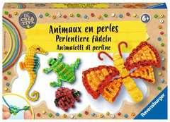 Perlentiere fädeln - Bild 1 - Klicken zum Vergößern