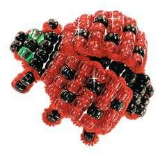 Perlentiere fädeln - Bild 2 - Klicken zum Vergößern