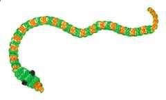 Perlentiere fädeln - Bild 6 - Klicken zum Vergößern