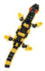 Perlentiere fädeln - Bild 9 - Klicken zum Vergößern