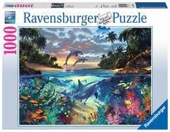 Puzzle 1000 p - Baie de coraux - Image 1 - Cliquer pour agrandir