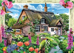 Country Cottage Collection - Foxglove Cottage, 1000pc - image 2 - Click to Zoom