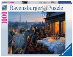 Puzzle 1000 p - Balcon parisien - Image 1 - Cliquer pour agrandir