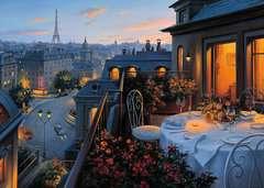 Puzzle 1000 p - Balcon parisien - Image 2 - Cliquer pour agrandir