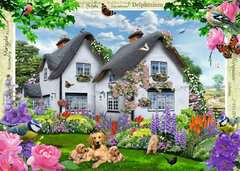 Country Cottage Collection - Delphinium Cottage, 1000pc - image 2 - Click to Zoom