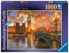 Westminster Sunset, 1000pc - image 1 - Click to Zoom