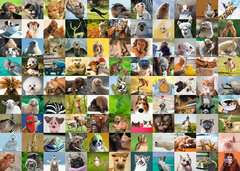99 Funny Animals, 1000pc - Billede 2 - Klik for at zoome