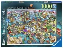 Puzzle 1000 p - European Wonders - Image 1 - Cliquer pour agrandir