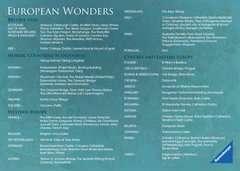 Puzzle 1000 p - European Wonders - Image 5 - Cliquer pour agrandir