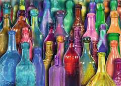 Colorful Bottles - image 2 - Click to Zoom