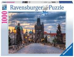 The walk across the Charles Bridge Ravensburger Puzzle  1000 pz - Foto & Paesaggi - immagine 1 - Clicca per ingrandire