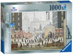 Lowry Coming From the Mill, 1000pc - image 4 - Click to Zoom