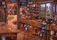 Puzzle 1000 p - L'atelier de Papy - Image 2 - Cliquer pour agrandir