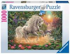 Puzzle 2D 1000 elementów: Jednorożec - Zdjęcie 1 - Kliknij aby przybliżyć