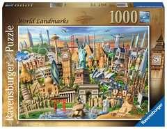 World Landmarks, 1000pc - image 1 - Click to Zoom