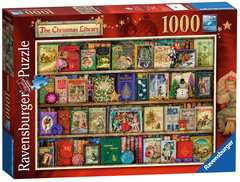 The Christmas Library, 1000pc - image 2 - Click to Zoom