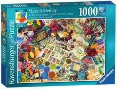 Perplexing Puzzles - Make it Medley, 1000pc Puzzles;Adult Puzzles - image 1 - Ravensburger