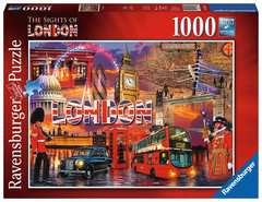 The Sights of London, 1000pc - image 1 - Click to Zoom