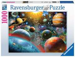 Puzzle 1000 p - Vision planétaire - Image 1 - Cliquer pour agrandir