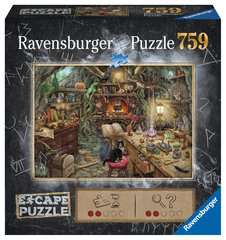 Escape Puzzle 759pc Witch's Kitchen - image 1 - Click to Zoom