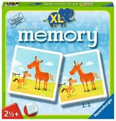 Mein erstes XL memory® Tiere Spiele;Kinderspiele - Bild 1 - Ravensburger