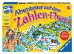 Abenteuer auf dem Zahlen-Fluss Lernen;Lernspiele Ravensburger