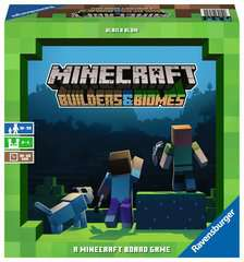Minecraft Builders & Biomes - A Minecraft Board Game - Billede 1 - Klik for at zoome