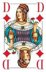 Klassisches Skatspiel, Französisches Bild mit großen Eckzeichen, 32 Karten in Klarsicht-Box - Bild 2 - Klicken zum Vergößern