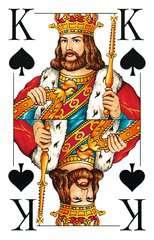 Klassisches Skatspiel, Französisches Bild mit großen Eckzeichen, 32 Karten in Klarsicht-Box - Bild 4 - Klicken zum Vergößern