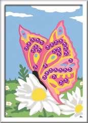 Numéro d'art - petit - Papillon et sequins - Image 2 - Cliquer pour agrandir