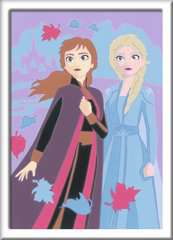 Numéro d'art - petit - Disney La Reine des Neiges 2, Elsa et Anna - Image 2 - Cliquer pour agrandir