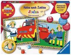 Feuerwehrmann Sam Malen und Basteln;Zeichen- und Malsets - Bild 1 - Ravensburger