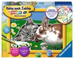 Kätzchen und Häschen - Bild 1 - Klicken zum Vergößern