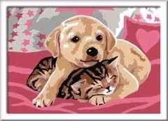 Numéro d'art - petit - Comme chien et chat - Image 2 - Cliquer pour agrandir