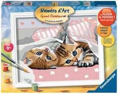 Numéro d'art - grand - Chatons mignons - Image 1 - Cliquer pour agrandir
