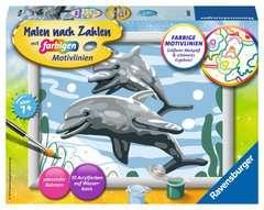 Freundliche Delfine - Bild 1 - Klicken zum Vergößern