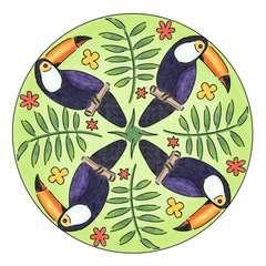 Mandala  - midi - Flamingo - Image 2 - Cliquer pour agrandir