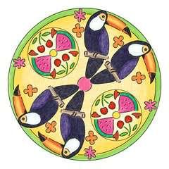 Mandala  - midi - Flamingo - Image 5 - Cliquer pour agrandir