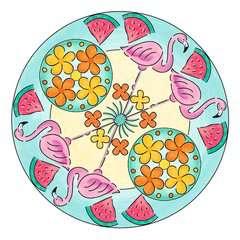 Mandala  - midi - Flamingo - Image 6 - Cliquer pour agrandir