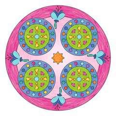 Mandala  - midi - Lama - Image 3 - Cliquer pour agrandir