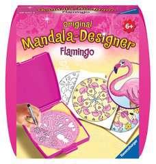 Mandala - mini - Flamingo - Image 1 - Cliquer pour agrandir