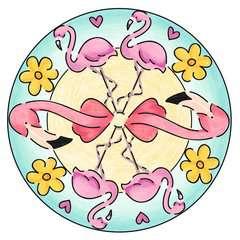 Mandala - mini - Flamingo - Image 7 - Cliquer pour agrandir