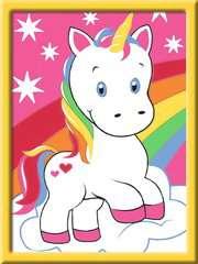 Numéro d'art - mini - Adorable licorne - Image 2 - Cliquer pour agrandir
