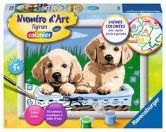 Numéro d'art - petit - Adorables chiots - Image 1 - Cliquer pour agrandir