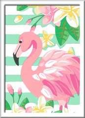 Numéro d'art - petit - Flamant rose - Image 2 - Cliquer pour agrandir