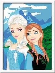 Numéro d'art - moyen - Elsa et Anna /La Reine des Neiges, Disney - Image 2 - Cliquer pour agrandir