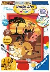 Numéro d'art - petit - Disney Le Roi Lion - Image 1 - Cliquer pour agrandir